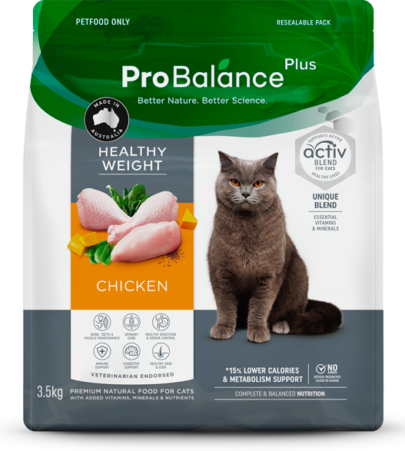 Care Range Dry Cat Food Healthy Weight