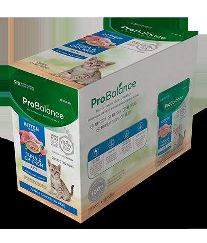 Premium Wet Cat Food Kitten Tuna & Chicken Pate